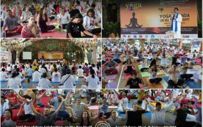 YOGA ANANDA –  LIVE HEALTHY | LIVE HAPPY at Anand Ashram Ubud, June 21st, 2019